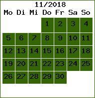 Bewoning 11 / 2018